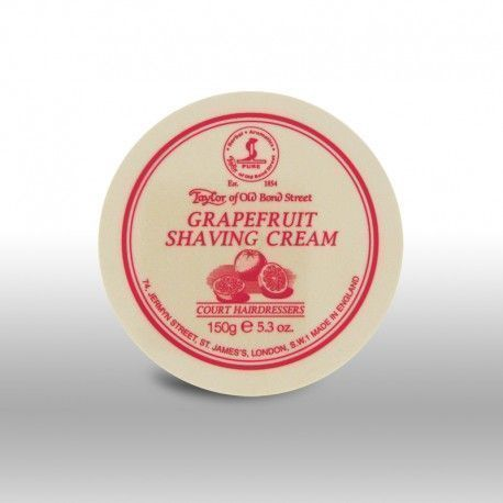 Grapefruit Shaving Cream Bowl 150g, Taylor Of Old Bond Street