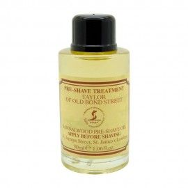 Pre shave Sandalwood oil, Taylor of Old Bond Street. 30 ml