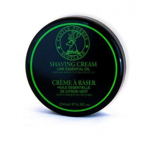 Castle Forbes Lime Shaving Cream, 200ml