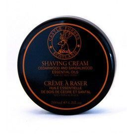 Castle Forbes Cerdarwood and Sandalwood Shaving Cream, 200ml